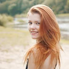 What percentage of woman are redheads
