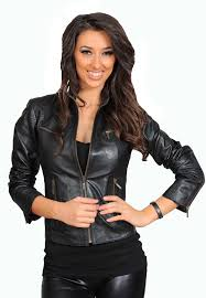 las biker leather jacket jenny black