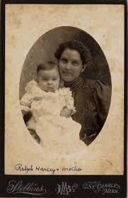 Ralph Gerald Harcey - Lela (Heath) Harcey with her son Ralph Gerald Harc