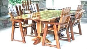 rustic outdoor patio furniture rustic patio table rustic outdoor patio furniture sets dining set rustic outdoor