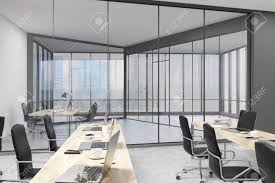office with glass walls open office area and bossu0027s study in modern company concept design concepts88 office