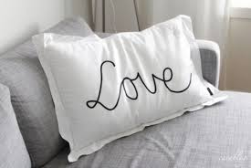 Pillow Quotes Custom Pillow Quote On It Lovely White Black Black And White Quote On