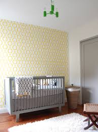 yellow and gray nursery view full size