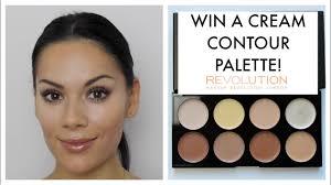 cream contour tutorial makeup revolution