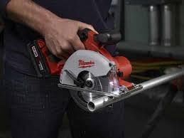 milwaukee metal saw. milwaukee m18 cordless metal saw application p