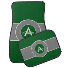 green car floor mats. Dark Green Gray Car Mat Green Car Floor Mats