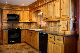 plain design alder kitchen cabinets knotty