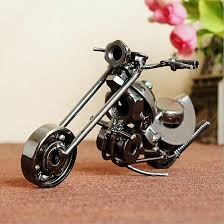 metal crafts motorcycle model creative s bination decorative showpiece personality gifts motorbike scooter model