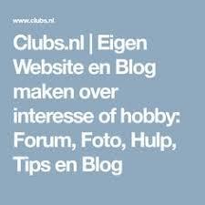 blog maken op eigen website