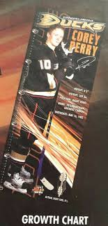 Nhl Anaheim Ducks Hockey Corey Perry Banner Growth Chart