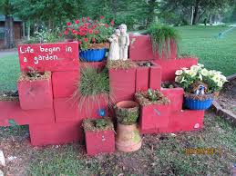 cinder block wall painting ideas elegant the best cinder block garden ideas for your sweet home