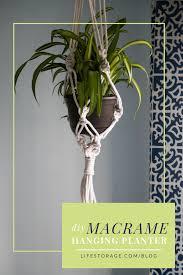 pin diy macrame hanging planter