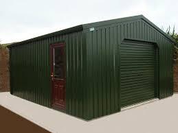 steel frame garage 6m x 6m very