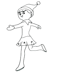 Lego Elf Coloring Pages Elves Coloring Pages Lego Elves Naida