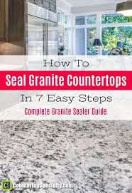 how to seal marble countertops how to seal granite countertops in 7 steps this works super