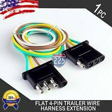 trailer wiring harness ebay wiring harness with 4-pole flat trailer connector at 4 Flat Trailer Wiring Harness