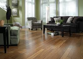 dark bamboo flooring living room. Perfect Room Glossy Bamboo Flooring Design With Dark Brown Fabric Sofa And Square Coffee  Table For Living Room D
