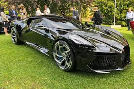The vehicle features redesigned front grille, a black background for the headlights, side mirrors and more. The Secrets Of Bugatti S 19 Million La Voiture Noire