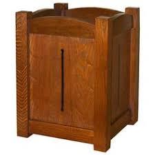 craftman furniture. Double Trash Bin W/ 10 Gallon Plastic Bucket Craftman Furniture