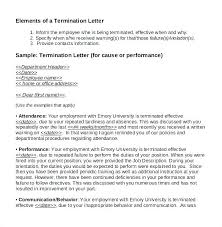 Sample Of A Termination Letter To An Employee Sample Termination Letter For Contract Employees Service How To
