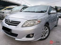 2008 Toyota Corolla Altis for sale in Malaysia for RM44,800 | MyMotor