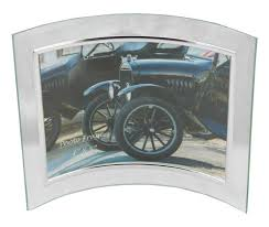 glass picture frame 7x5 curved