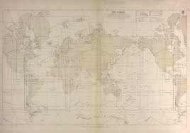 World Index To Nautical Sea Charts Published By The Admiralty 1933 Old Map