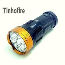 Tinhofire 20000 lümen ışık Kral 10T6 LED flaş 10 x CREE XM L T6 LED el  feneri Meşale lamba ışığı Avcılık Kamp Için lumen light light for  huntingled flashlamp - AliExpress