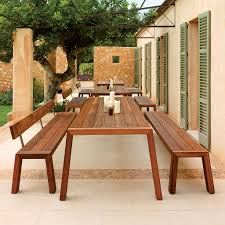 modern outdoor furniture cheap. SOLO Modern Garden TABLE And BENCH Designed By Wim Segers | MINIMALIST Outdoor Furniture Available In Cheap