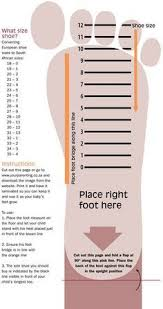 Image Result For Toddler Shoe Size Chart South Africa Shoe