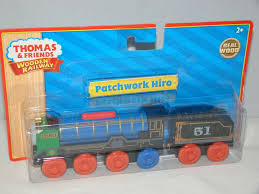 2010 thomas friends wooden railway patchworkd hiro real wood nwb l curve 796714980362