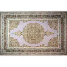 motes hand look persian wool pink brown ivory area rug by astoria grand astoria