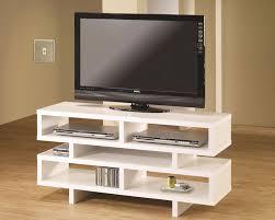 modern tv console. White Modern TV Stand Tv Console 8