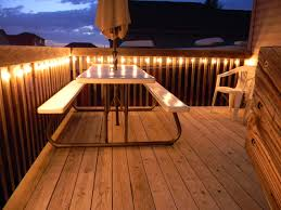 Outdoor Deck Lighting Ideas Keep It Simple With Oversized Fairy Lights Outdoor Deck