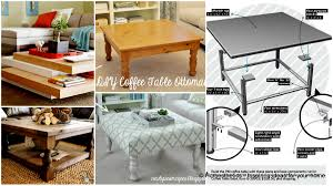 101 Simple Free DIY Coffee Table Plans