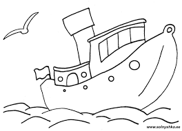 Small Picture boat coloring page coloring pages of boats free online Syougitcom
