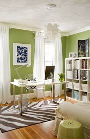 green home office. Beautiful Green Green  White Home Office With Zebra Rug Inside Green Home Office Z