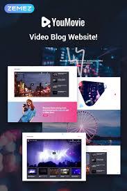 Wordpress Movie Theme Youmovie Videography Elementor Wordpress Theme