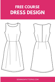 Design Your Own Casual Dress Learn How To Design Your Own Clothes Design Your Own