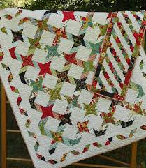 Quilt Patterns - Twisting With The Stars - 4 Quilt Sizes plus ... & Quilt Patterns - Twisting With The Stars - 4 Quilt Sizes plus Table Runner  - Layer Cake - Jelly Roll - Hard Copy Version Adamdwight.com