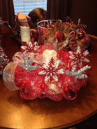 Christmas Centerpiece Ideas For Round Table