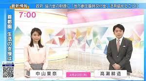 中山 果奈 おはよう 日本