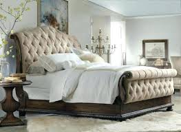 black upholstered sleigh bed. Upholstered Sleigh Bed Queen Size Black T