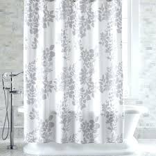 white and grey shower curtains light grey shower curtain 6
