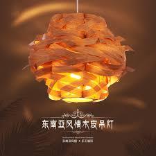 wood veneer lighting. chinese style wooden veneer pendant light wood lamp birdu0027snest lightchina lighting