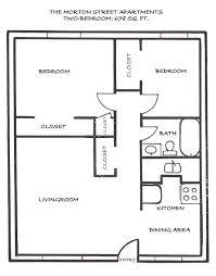 two bedroom house floor plans
