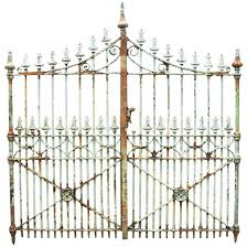 wrought iron fence victorian. Pair Of English Victorian Cast Iron Gate Posts For Sale At 1stdibs Wrought Fence