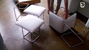Save space with shapeshifting furniture