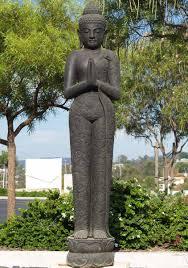 garden buddha statues. SOLD Stone Tall Praying Garden Buddha 78\ Statues