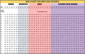 Bmi Chart Women Mens Bmi Chart Jasonkellyphoto Co